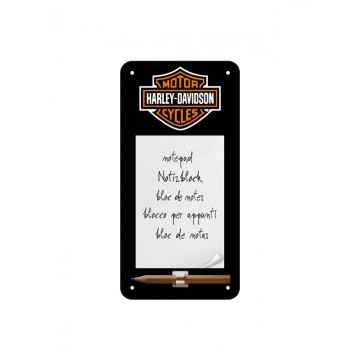 Block notes magnetico Harley Davidson - logo
