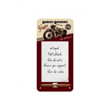 Block notes magnetico Harley Davidson - Flathead