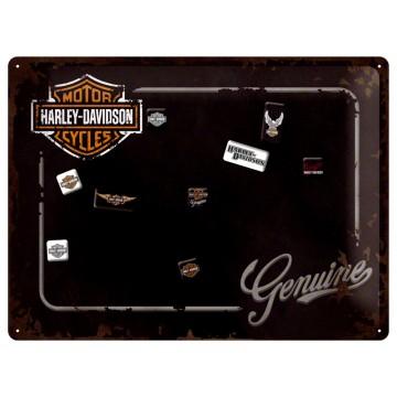 Lavagna magnetica Harley Davidson