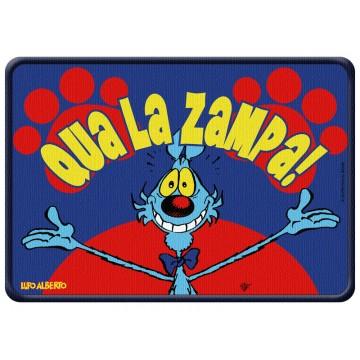 Tappetino Lupo Alberto - Qua la zampa