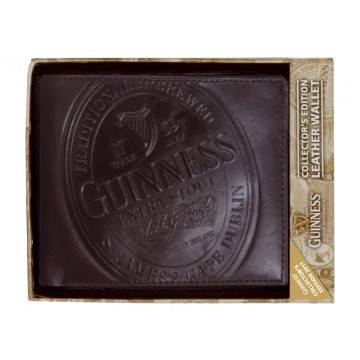 Portafoglio pelle logo - Guinness