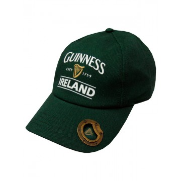 Cappellino Ireland apribottiglie - Guinness
