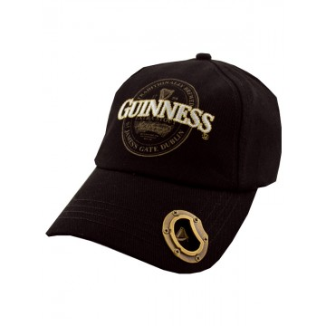 Cappellino logo apribottiglie - Guinness