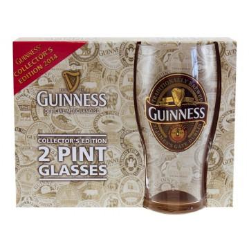 Set 2 bicchieri logo - Guinness