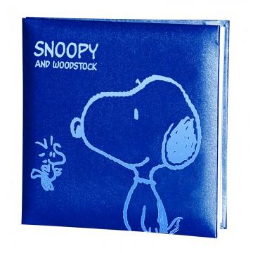 Album foto 15 fg. 23x24 blu - Peanuts
