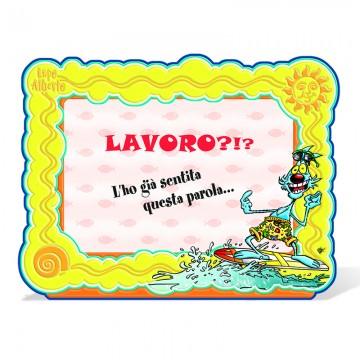 Portafoto Lupo Alberto - Surf