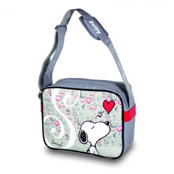 Hand Bag Snoopy Linea Cuori