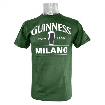 T-Shirt Guinness Green Milano M