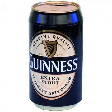 Salvadanaio lattina Guinness