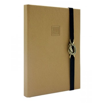 NOTEBOOK A4 GOLD MAKENOTES