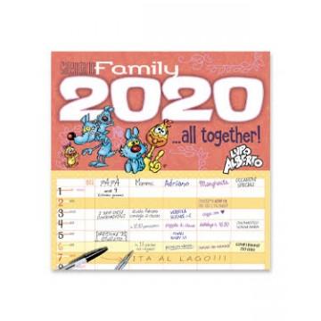 CALENDARIO MAXI LUPO ALBERTO FAMILY 2020