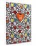 NOTEBOOK A4 GRAFFETTATO HEARTS MAKENOTES
