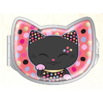 SPECCHIETTO PINK LUCKY CAT