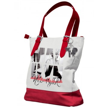 Shopping bag Marilyn - Romantic