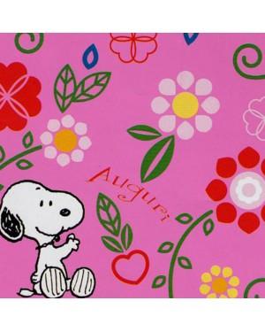 Immagini Snoopy Anniversario Matrimonio.Carta Regalo Peanuts Fondo Rosa