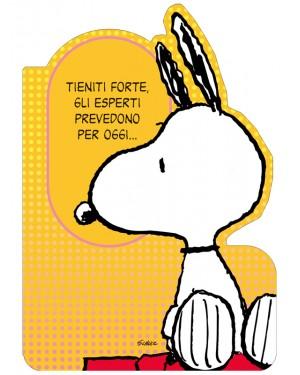 Immagini Snoopy Anniversario Matrimonio.Biglietto Di Auguri Peanuts Compleanno Tieniti Forte