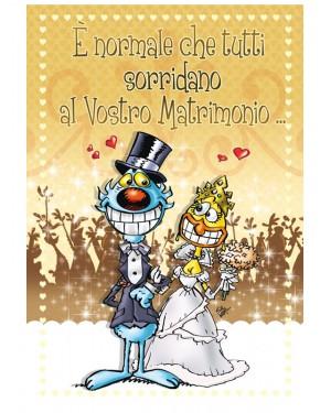 Biglietto di auguri lupo alberto matrimonio e 39 normale for Immagini di auguri matrimonio