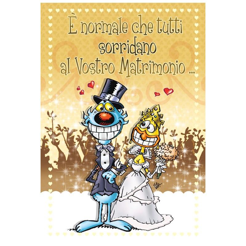 Biglietti Auguri Matrimonio Lupo Alberto : Biglietto di auguri lupo alberto matrimonio quot e normale