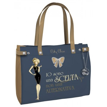 Borsa City Chic Collection - Grey