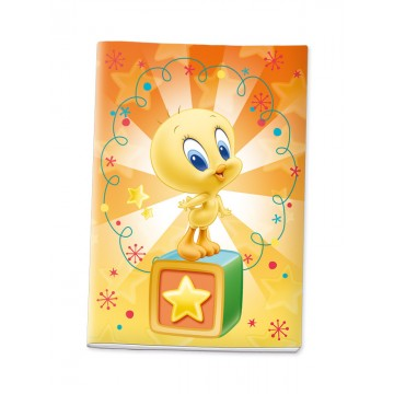 Quaderno maxi a quadretti (4 mm) Titty Lemon - Baby Looney Tunes