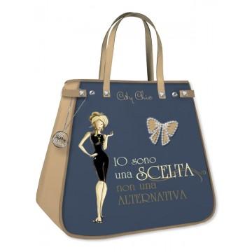 Borsa shopping City Chic Collection - Grey