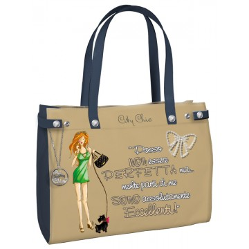 Borsa City Chic Collection - Sand