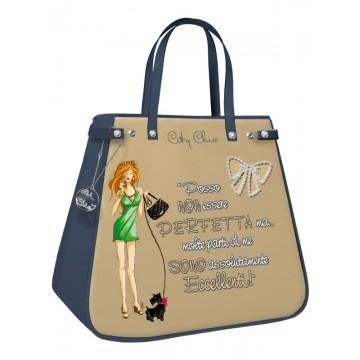 Borsa shopping City Chic Collection - Sand