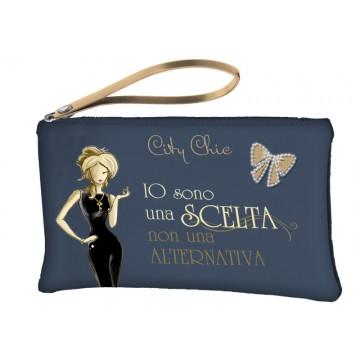 Borsa pochette City Chic Collection - Grey